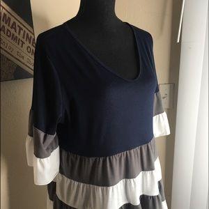 Shirt for Woman 👕 Blue Black Gray & White